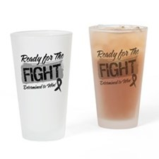 Ready Fight Skin Cancer Drinking Glass