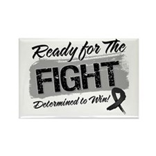 Ready Fight Skin Cancer Rectangle Magnet