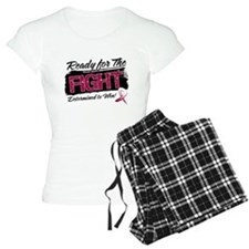 Ready Fight Throat Cancer Pajamas