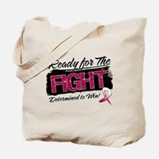 Ready Fight Throat Cancer Tote Bag
