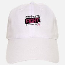 Ready Fight Throat Cancer Baseball Baseball Cap