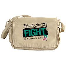 Ready Fight Thyroid Cancer Messenger Bag