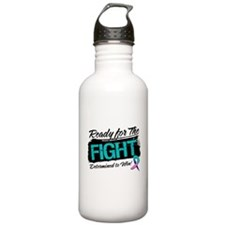 Ready Fight Thyroid Cancer Water Bottle