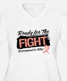 Ready Fight Uterine Cancer T-Shirt