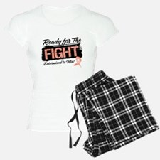 Ready Fight Uterine Cancer Pajamas