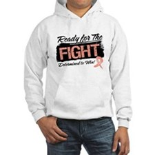 Ready Fight Uterine Cancer Hoodie