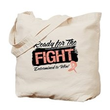 Ready Fight Uterine Cancer Tote Bag