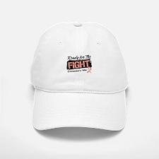 Ready Fight Uterine Cancer Baseball Baseball Cap