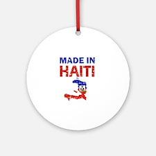 Made In Haiti Ornament (Round)
