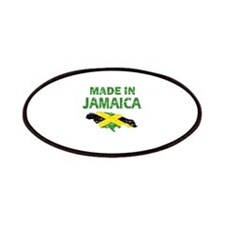 Made In Jamaica Patches
