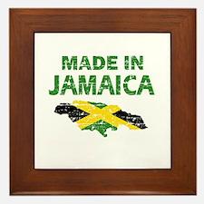 Made In Jamaica Framed Tile