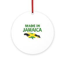 Made In Jamaica Ornament (Round)
