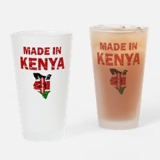 Made In Kenya Drinking Glass