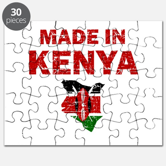 Made In Kenya Puzzle