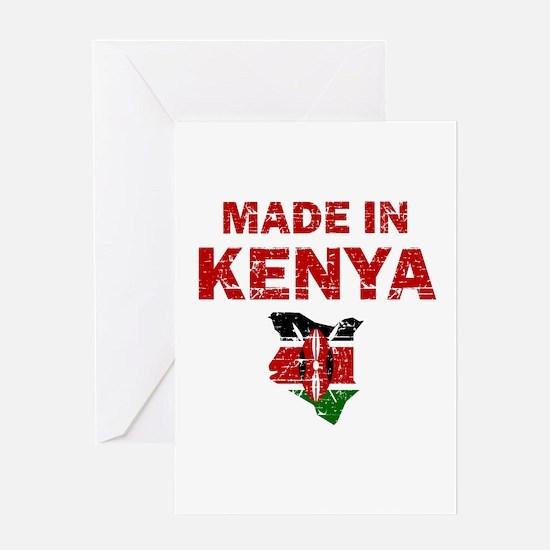 Made In Kenya Greeting Card