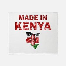 Made In Kenya Throw Blanket