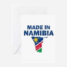Made In Namibia Greeting Card