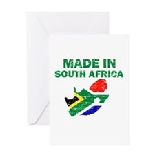 Made In South Africa Greeting Card