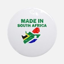 Made In South Africa Ornament (Round)