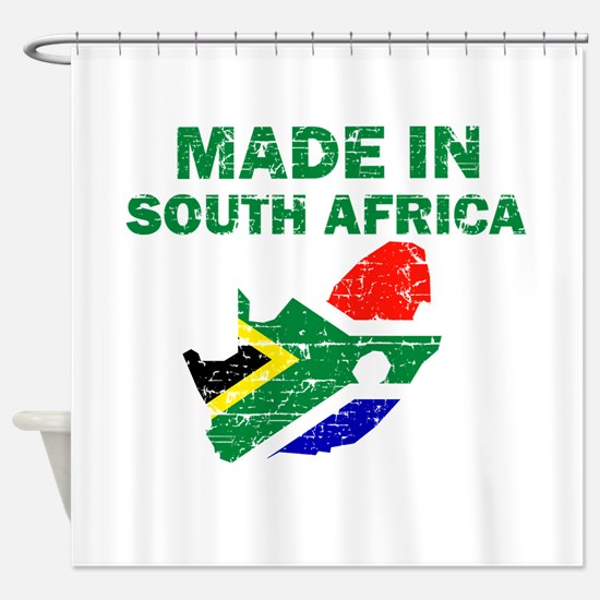 Made In South Africa Shower Curtain