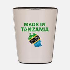Made In Tanzania Shot Glass