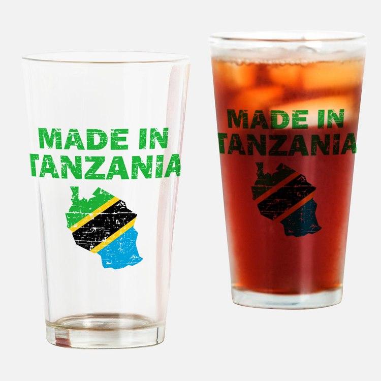 Made In Tanzania Drinking Glass