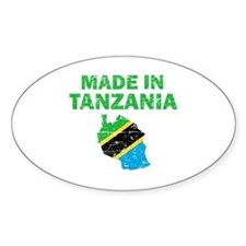 Made In Tanzania Decal