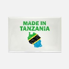Made In Tanzania Rectangle Magnet