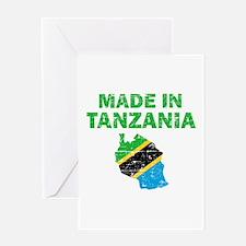 Made In Tanzania Greeting Card