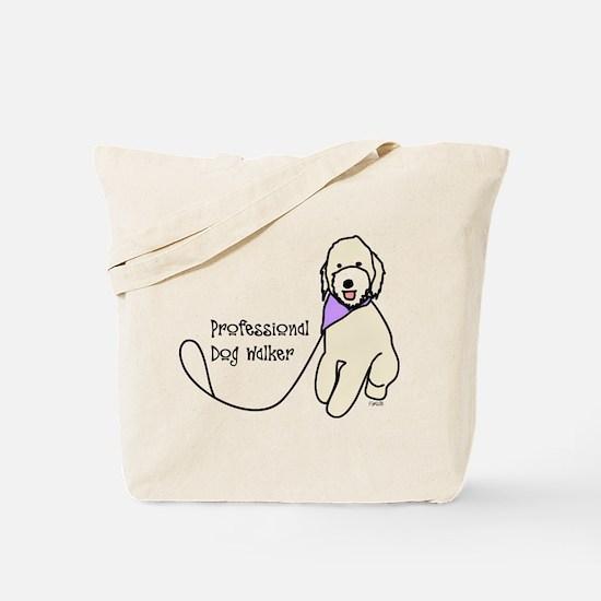 Professional Dog Walker Tote Bag