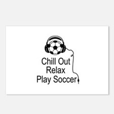 Cool Soccer Designs Postcards (Package of 8)