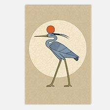 Sun Disc Benu Postcards (Package of 8)