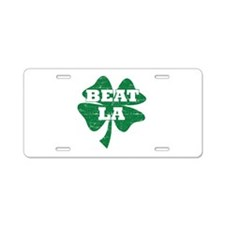 Funny Los Angeles Designs Aluminum License Plate