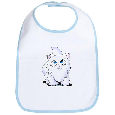 Blue Eyed Cutie Cat Bib