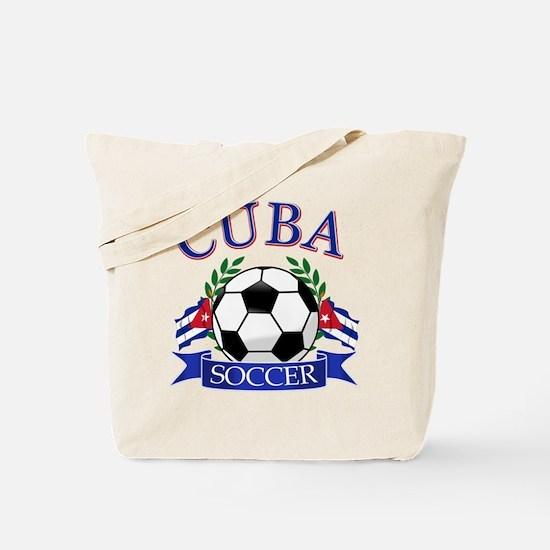 Cuban Football Tote Bag