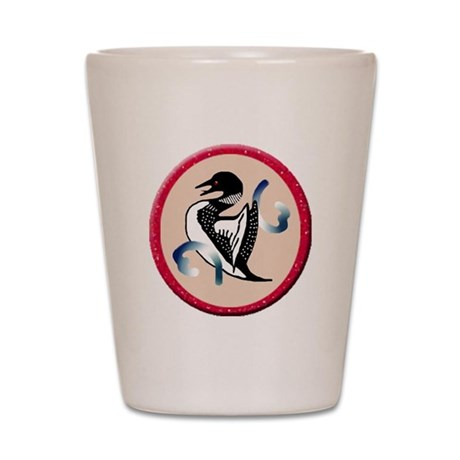 Loon Shot Glass