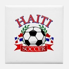 Haitian Football Tile Coaster