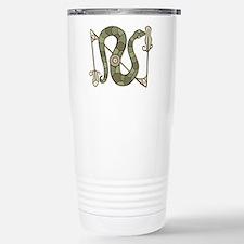 Pictish Snake Stainless Steel Travel Mug