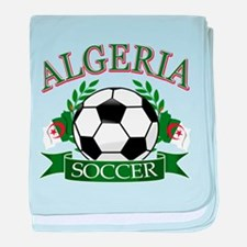 Algerian Football baby blanket