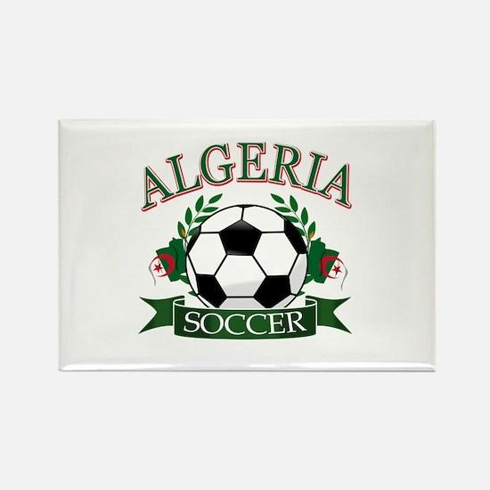 Algerian Football Rectangle Magnet
