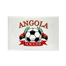 Angola Football Rectangle Magnet