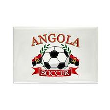Angola Football Rectangle Magnet (10 pack)