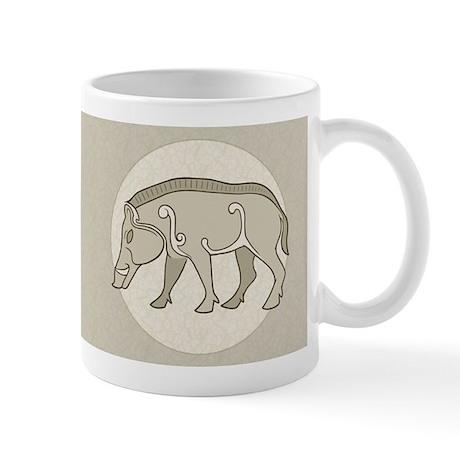 Pictish Boar Mug