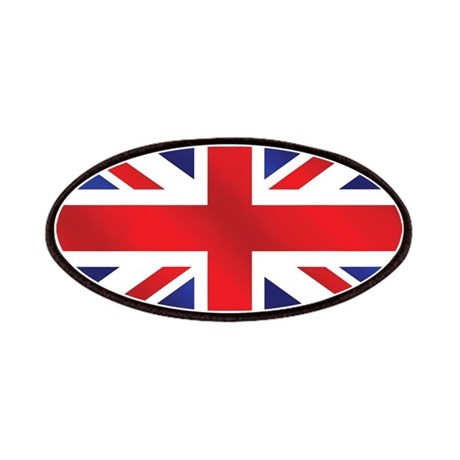 Union Jack UK Flag Patches