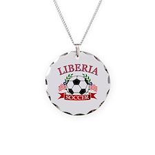Liberia Football Necklace