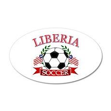 Liberia Football Wall Decal