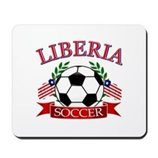 Liberia Football Mousepad