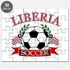 Liberia Football Puzzle