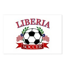 Liberia Football Postcards (Package of 8)