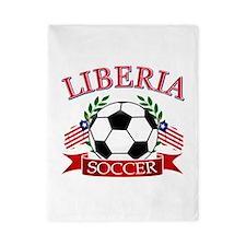 Liberia Football Twin Duvet